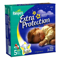 Pampers Extra Protection Diapers Size 5 (23 Count)