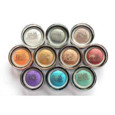 Maybelline Eye Studio Color Tattoo 24HR Cream Gel Eye Shadow
