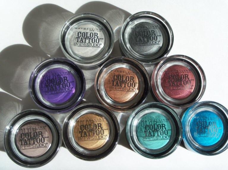 Maybelline eye studio color tattoo 24hr cream gel eye for Maybelline color tattoo gel eyeshadow