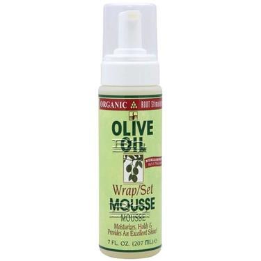 Organic Root Stimulator Olive Oil Mousse Wrap/Set
