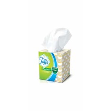 Puffs Plus Lotion with the Scent of Vicks