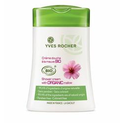 Shower Cream with Organic Mallow