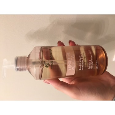 Yves Rocher Micellar Cleansing Water Reviews In Makeup Removers Chickadvisor
