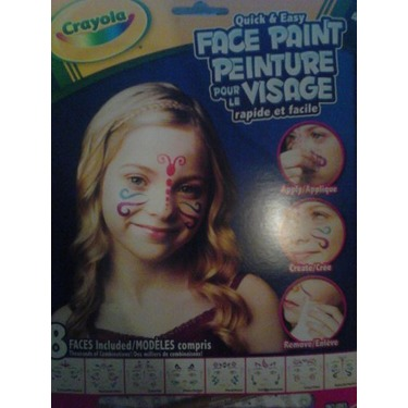 Crayola Quick and Easy Face Paint