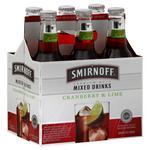 Smirnoff Cranberry & Lime