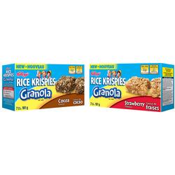 Kellogg's Rice Krispies Granola Bars