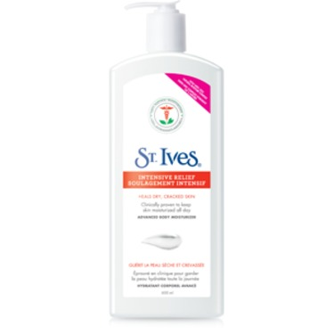 St. Ives Intensive Relief Body Moisturizer