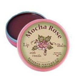 Rosebud Perfume Co Mocha Rose Lip Balm