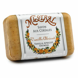 Mistral Vanilla Apricot French Soap