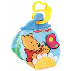Winnie the Pooh Peek and Teethe Crinkle Book