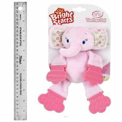 Bright Starts Pretty in Pink Elephant Teether