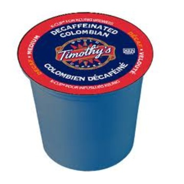 Timothy's Decaf Columbian K-Cups