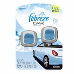Febreze Car Vent Clips Freshener in Linen & Sky