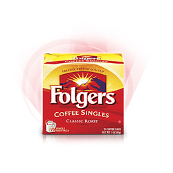 Folgers Classic Roast Coffee Singles