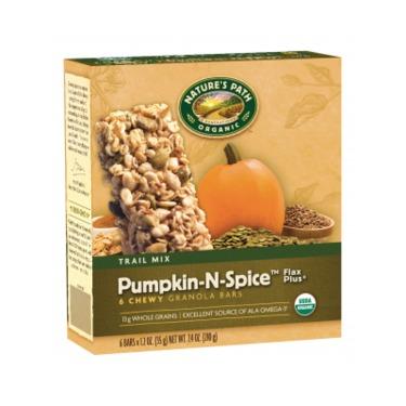 Pumpkin N Spice Natures Path Granola Bars