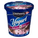 Chapman's Black Jack Cherry Frozen Yogurt