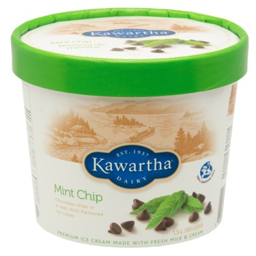 Kawartha Dairy  Company -Mint Chocolate Icecream