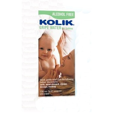 Kolik Alcohol Free Gripe Water for Babies
