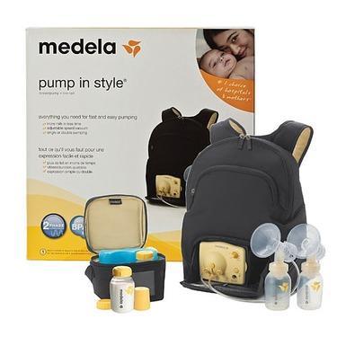 Medela Pump in Style Breastpump Backpack - with BPA-Free Bottles