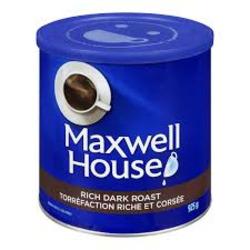 Maxwell Coffee Dark Roast