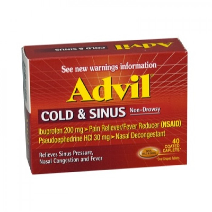 Clomid and advil cold and sinus