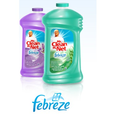 Mr. Clean Multi-Surface All-Purpose Cleaner with Febreze Freshness in Lavender Vanilla & Comfort