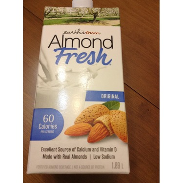 EARTH'S OWN ALMOND SOFRESH UNSWEETENED ORIGINAL