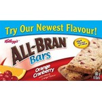 All-Bran Cereal Bars - Orange and Cranberry