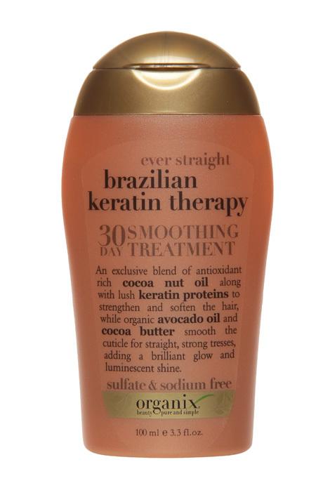 Organix Brazilian Keratin Therapy 30-Day Smoothing ...