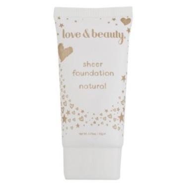 Love & Beauty Sheer Foundation