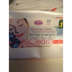 Merida Cleansing Wipes - Face/Eye