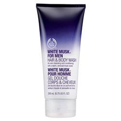 White Musk Hair and Body Wash for Men