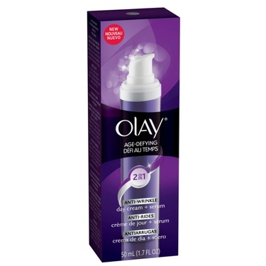 Olay Age Defying 2 in 1 Anti Wrinkle Day Cream and Serum