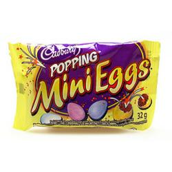 Cadbury Mini Eggs Popping