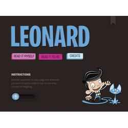 Leonard by Ink Robin