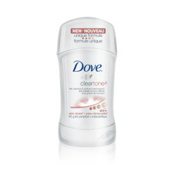 Dove Clear Tone Antiperspirant