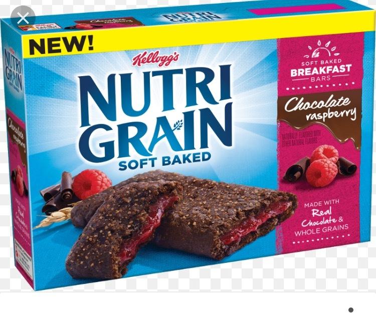 Kelloggs Nutri-Grain Bars Strawberry 25 x 37g   Bestway