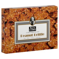 See's Candies Peanut Brittle