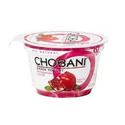 Chobani Greek Yogurt Pomegranate Fat Free