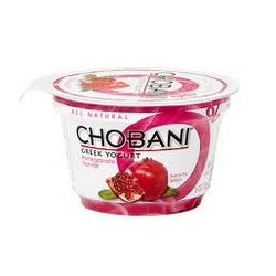 Chobani Greek Yogurt Pomegranate Fat Free