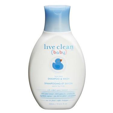 Live Clean Baby Gentle Moisture Tearless Baby Bath