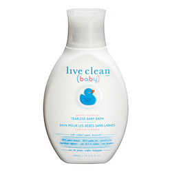 Live Clean Baby Gentle Moisture Tearless Baby Bath