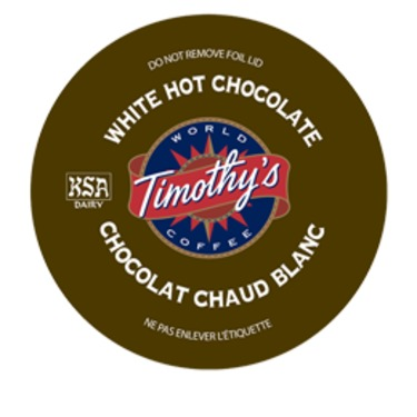 Timothy's White Hot Chocolate K-Cup