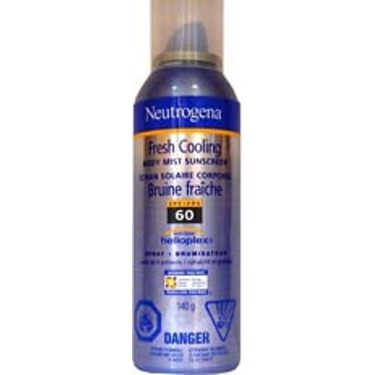 Neutrogena Fresh Cooling Body Mist Sunscreen with Helioplex