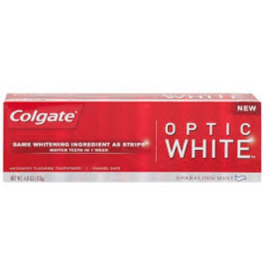 Colgate Optic White Toothpaste Reviews In Toothpastes Chickadvisor