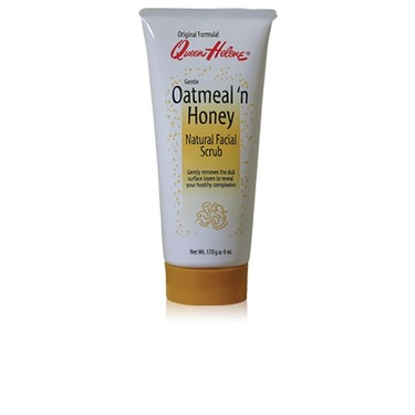 Queen Helene Gentle Oatmeal 'n Honey Natural Face Scrub