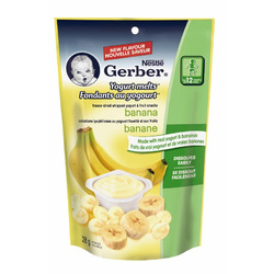 Nestlé Gerber® Yogurt Banana Melts