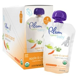 Plum Organics Baby Second Blends