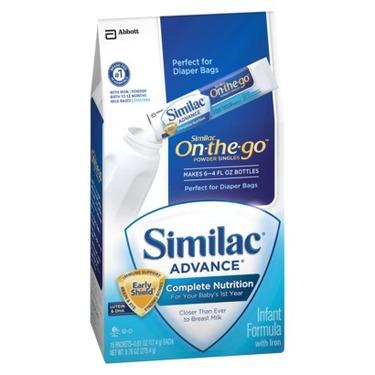 Similac Advance Powder Packets