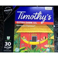 Timothys Rainforest Espresso Coffee